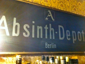 Absinthe Depot Berlin Germany liquor