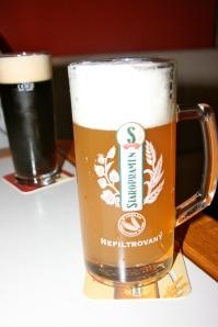 Unfiltered Beer, Prague Czech Republic