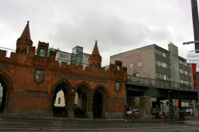 The Oberbaum Bridge Berlin, Germany