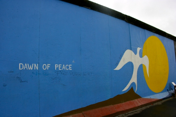 Dawn of Peace Graffiti Berlin Wall