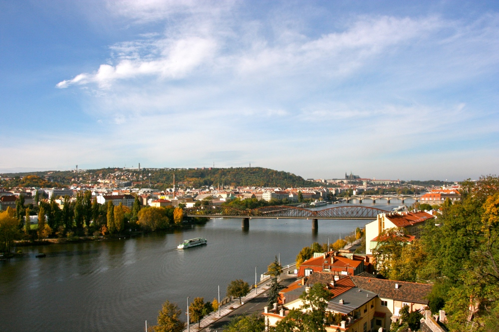 View from Vyšehrad