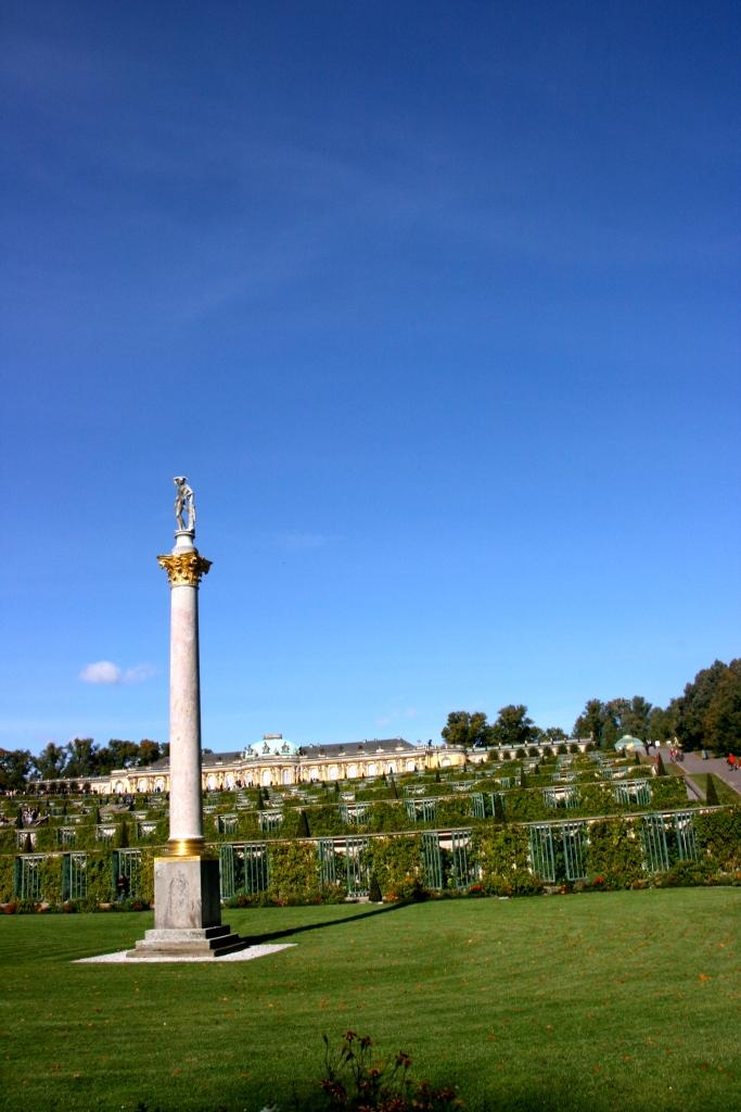 View of Sanssouci Palace