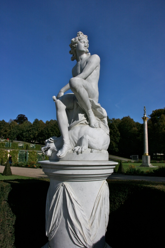 Statue at Sanssouci Great Fountain