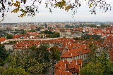 Prague from Prague Castle Lookout