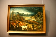 The Return of the Herd, Bruegel, Vienna, Austria, Art