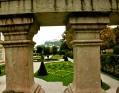 Mirabell Gardens, Salzburg, Austria, roses, Castle