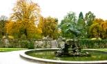 Fountain, Salzburg, Austria, Horse, Mirabell Gardens, Fall