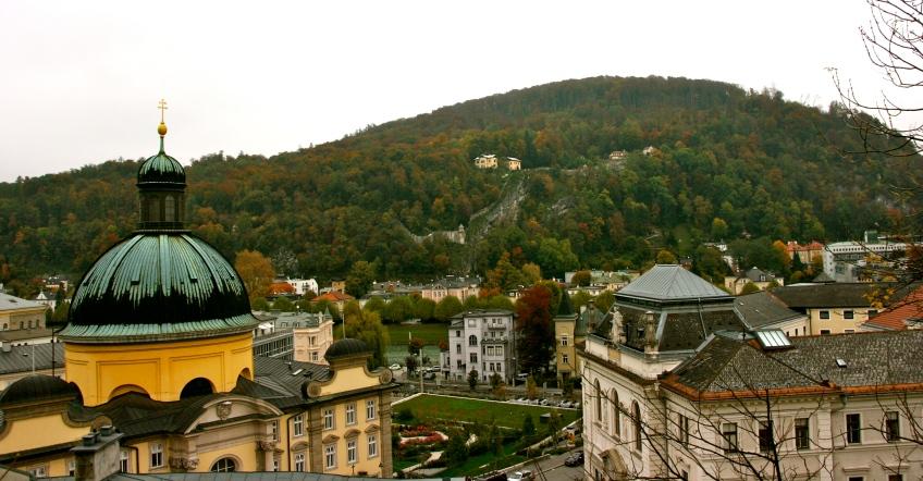 Salzburg, Austria, Fall, Domes, Cathedral,