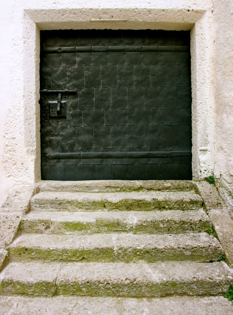 Doors, Hohensalzburg Castle, Salzburg, Austria