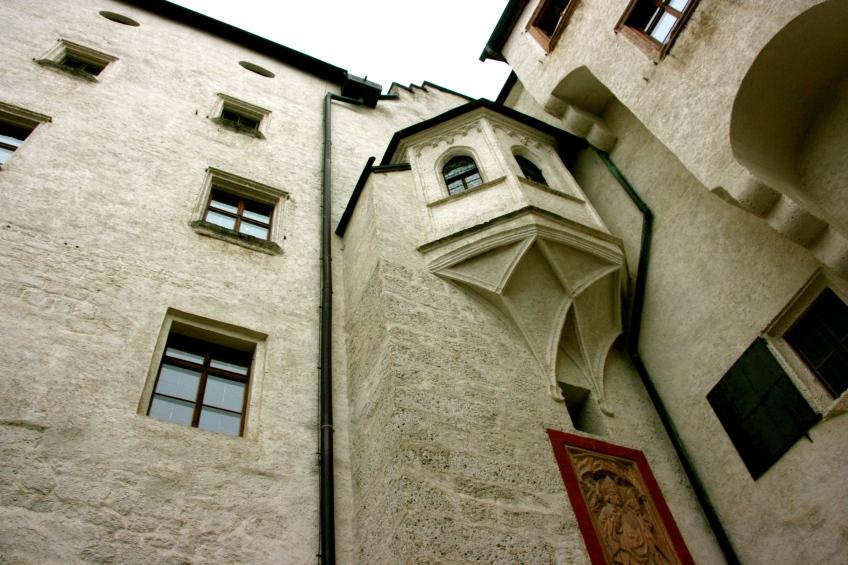 Hohensalzburg Castle, Salzburg, Austria,
