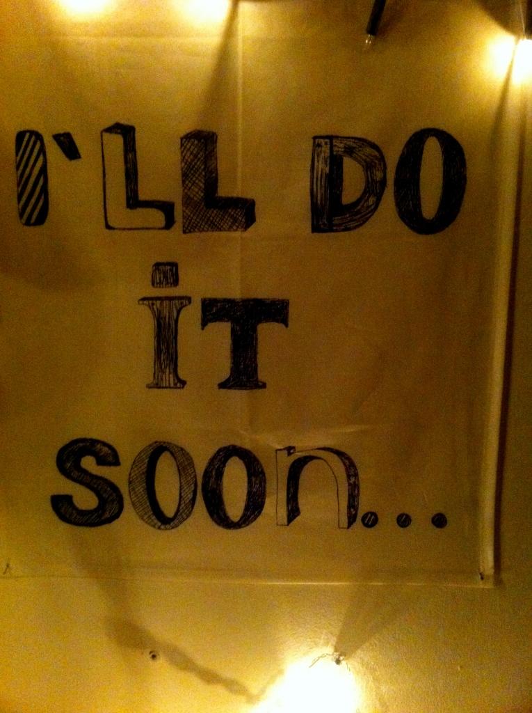 I'll Do it soon, Vienna, Austria, Generation Y