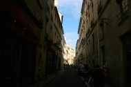 Paris Alley Shadows Street