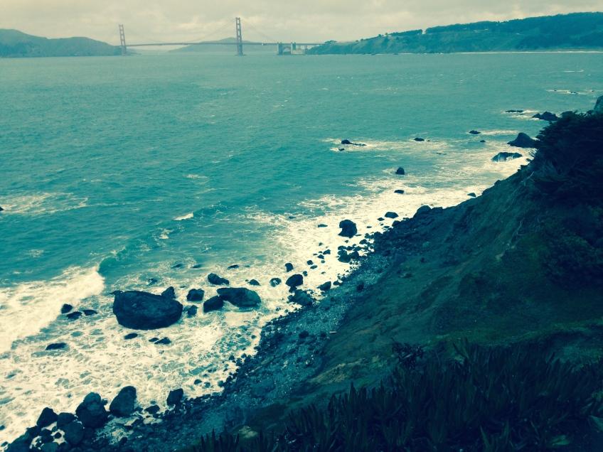 Land's End Golden Gate Bridge San Francisco