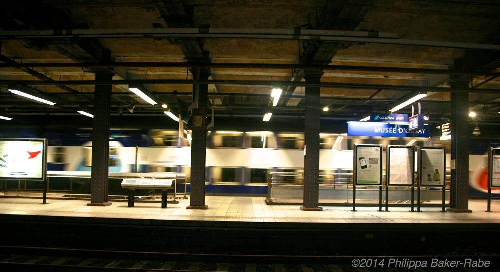 Paris Metro Musee D'Orsay