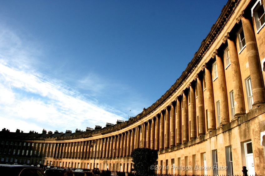 The Royal Crescent Bath England